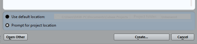 live recording with Cubase