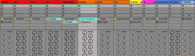 ableton show device slots