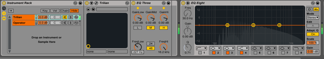 sub bass in ableton live