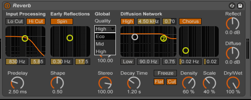 reduce CPU load in Ableton Live